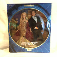 2002 Collectible James Bond 007 Ken and Barbie Tux & Gown Collector Edition NIB