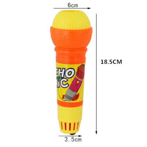 UK Kids Favor Echo Microphone  Voice Changer Toy Baby Birthday Gift