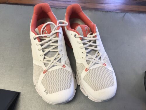 On Cloudflyer Running Shoes, Women's Size 9, White
