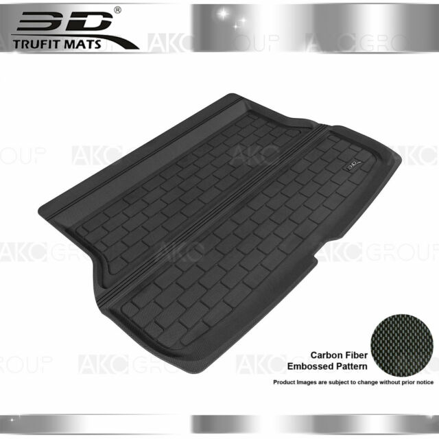 All Weather Cargo Liner Fits 13-18 Acura RDX Black Rubber