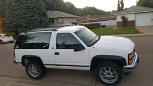 93 chevy blazer 1500 4x4 trade for truck