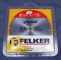 Felker Fx-s Segmented Rim Economy Diamond Blades Size: 8 X 0.095