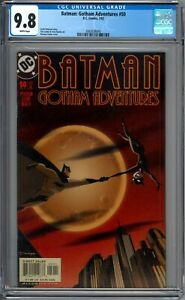 Batman-Gotham-Adventures-50-CGC-Graded-9-8-NM-MT-Darwyn-Cooke-DC-Comics-2002