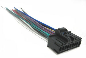 sony wiring harness car stereo 18 pin wire connector | ebay sony car audio wire harness