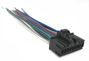sony wiring harness car stereo 18 pin wire connector ebayimage is loading sony wiring harness car stereo 18 pin wire