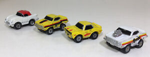 Micro MACHINES GALOOB Camaro, Corvette, BARRACUDA lotto di 4 1986