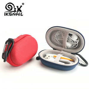 Headset-Case-Earphone-Earbuds-Box-With-Hook-Storage-Flash-Drive-USB-C-Cable-Bag