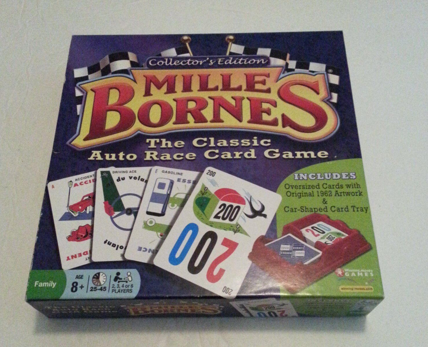 MILLE BORNES Classic CAR RACE 40th Anniversary COLLECTORS EDITION Card Game.....