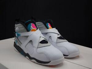 sports shoes f5709 7e5be Image is loading Nike-Jordan-VIII-8-Retro-034-South-Beach-