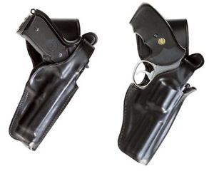 Fondina-da-Fianco-Vega-Holster-P1-per-Cinturone-Polizia-Vigilanza-In-pelle