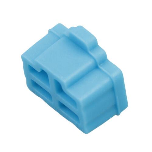 10Pcs ethernet hub port rj45 anti dust cover cap protector plug