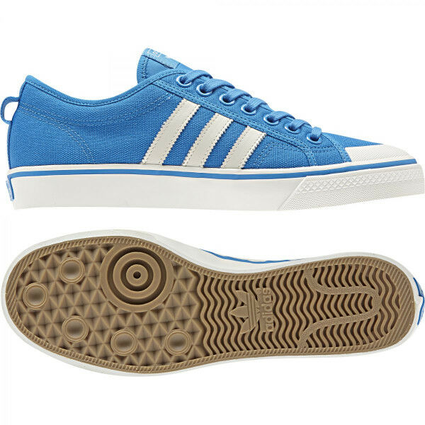 0dbae5dc6e Adidas Originals NIZZA (CQ2330) Athletic Sneakers Street Casual Blue Shoes