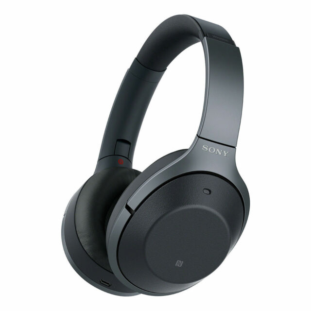 Sony WH-1000XM3 Ohrmuschel Bluetooth Kopfhörer - Schwarz Neu