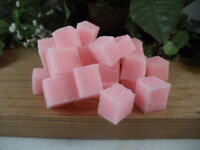 25 Bulk Sugar Cube Scrubs- With Essential Oil And Jojoba Oil- Gentle Exfoliation