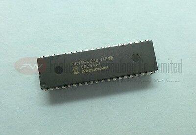MCU 8-bit PIC18 PIC RISC 32KB Flash 5V 40-Pin PDIP Tube PIC18F4520-I//P 10 Items