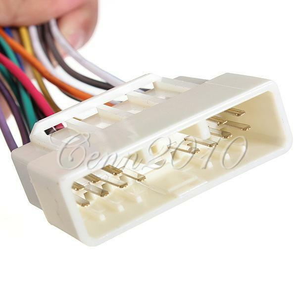 Car radio Stereo Player Wire Harness Adapter For Acura Honda Accord HWH 804