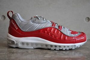 air max 98 supreme rouge