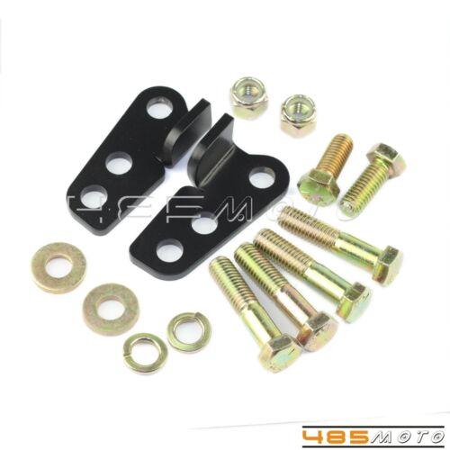 "Rear Adjustable 1-2/"" Lowering Drop Kit For Harley Electra Glide Road Glide 2013"