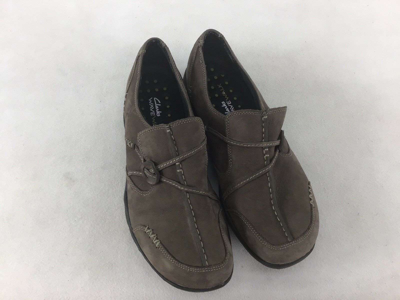 info for 401b9 1734c Clarks Wave Walk Leather Walking Size F6367 LS 8.5M shoes nrocdg7948-Women s  Trainers