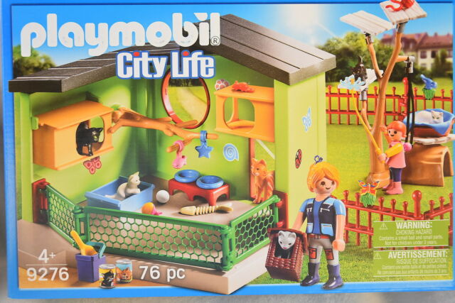 Playmobil PURRFECT STAY CAT BOARDING *NEW* 9276 City Life Hotel
