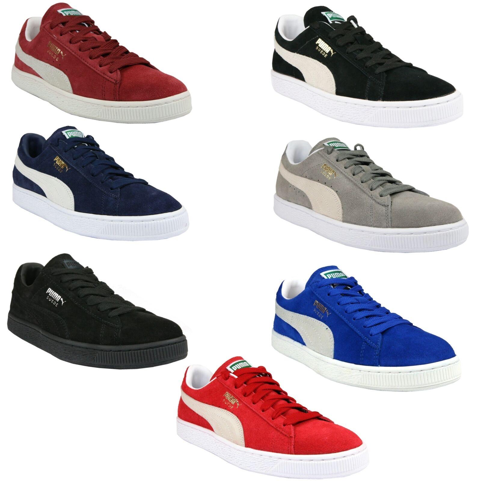 Puma Suede Classic+ Schuhe Turnschuhe Sneaker Wildleder Damen Herren