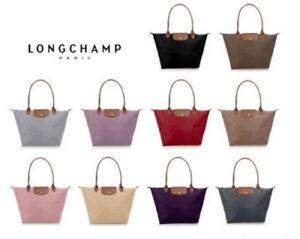bee26ce3a445 Image is loading Brand-New-Longchamp-Le-Pliage-Large-Nylon-Shoulder-