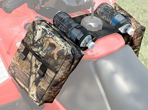 COCO Durable Universal Mossy Oak Infinity Camouflage ATV Tank Bag Saddle Bag ...