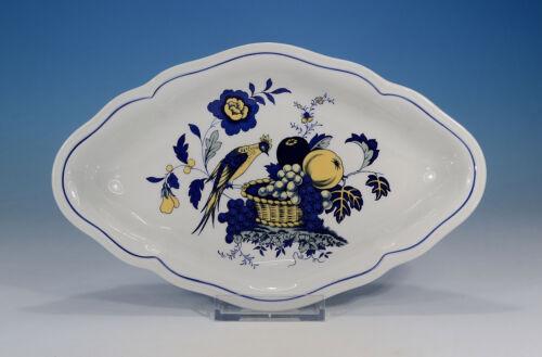 """Spode /""""Blue Bird/"""" Schale 23,5 x 14,5 cm."""