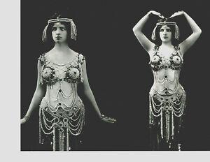 8x10-photo-Maud-Allan-pretty-sexy-actress-dancer-choreographer-circa-1900