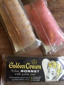 Capable 3 Golden Crown Nylon Bonnets-afficher Le Titre D'origine