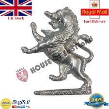 Lion Rampant Cap Badges Glengarry Hat/Balmoral Cap Badges Rampant Lion Highland