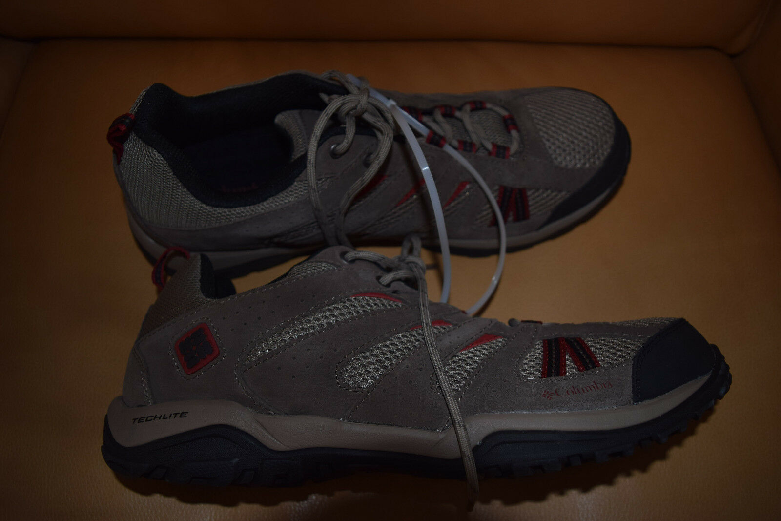 Columbia techlite man's hinking shoes, new without box, size12, color  brown