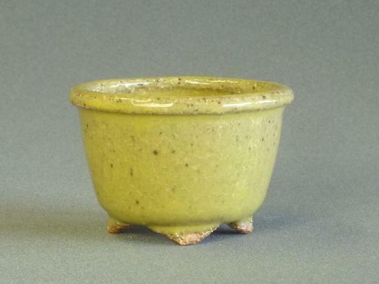 Tokoname Bonsai pot HATTORI Round 73mm(diameter) ×49mm