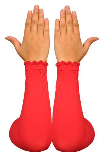 Hijab Islamic Prayer Clothes Elegant Arm Warmers in Various Colours
