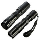 Practical Hot 3W Mini LED Flashlight Torch Light Lamp Outdoor Camping 1AA Black