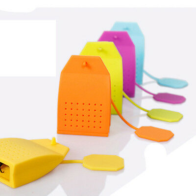 Wholesale Silicone Tea Strainer Herbal Spice Infuser Bag Filter Diffuser Kitchen