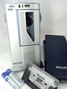 Philips Pocket Memo 696 LFH696 MiniCassette Executive Voice Recorder Dictaphone