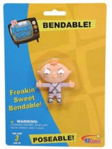 Set of 4 Family Guy Collectible Poseable Bendy Figures Bundle