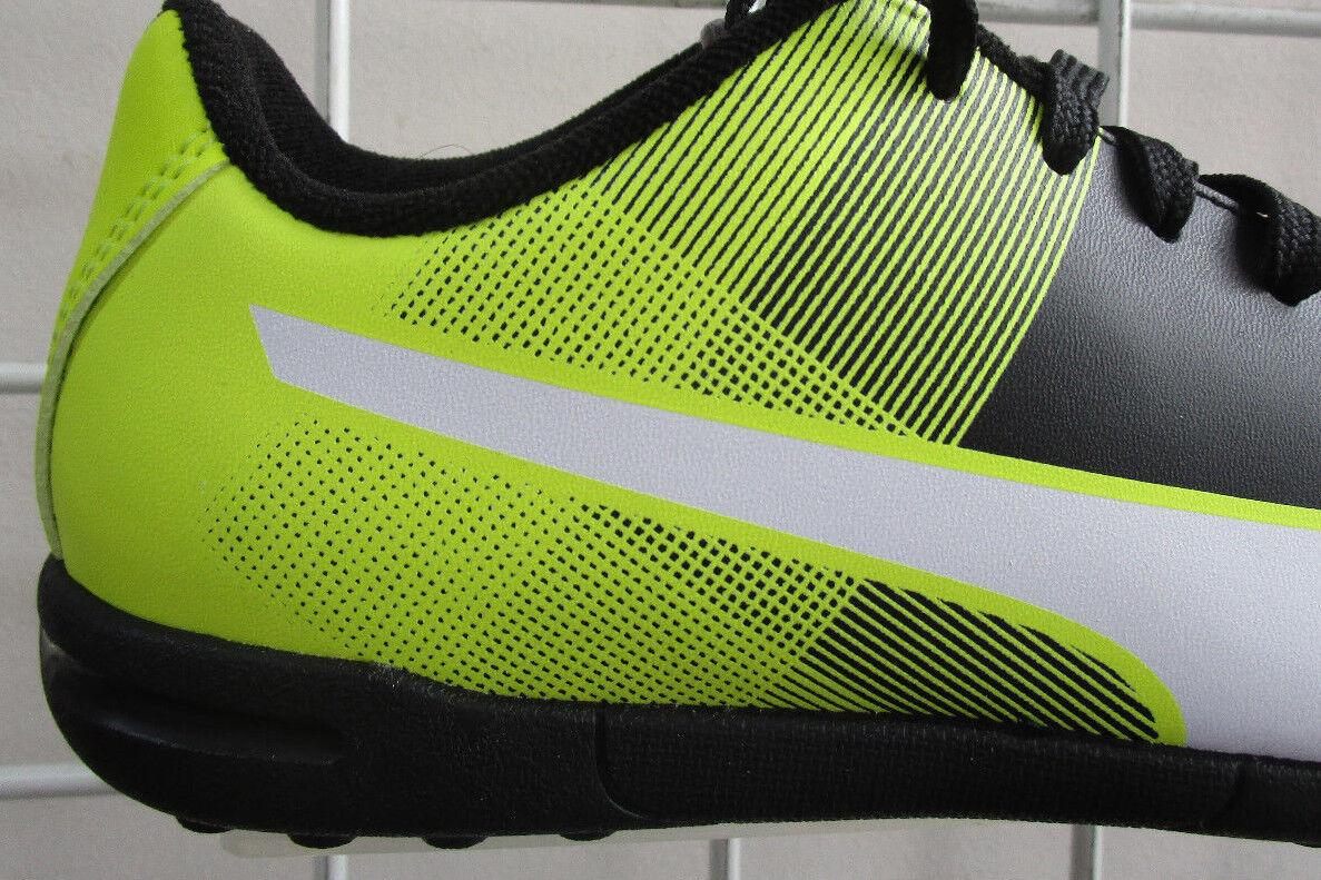 c875003af801af Boy s PUMA Adreno II TT Jr SNEAKERS Black Neon Green Spor Walking Shoes 5.5  for sale online