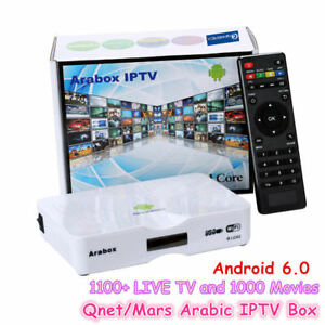 Details about Arabox 2019 Best Arabic Europe HD IPTV Box Android 1100+  Channels Free for life!