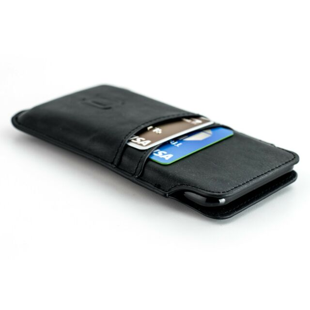 e9befe3683631 iPhone 7 6s 6 Wallet Sleeve by Dockem- Vintage Synthetic Leather ...