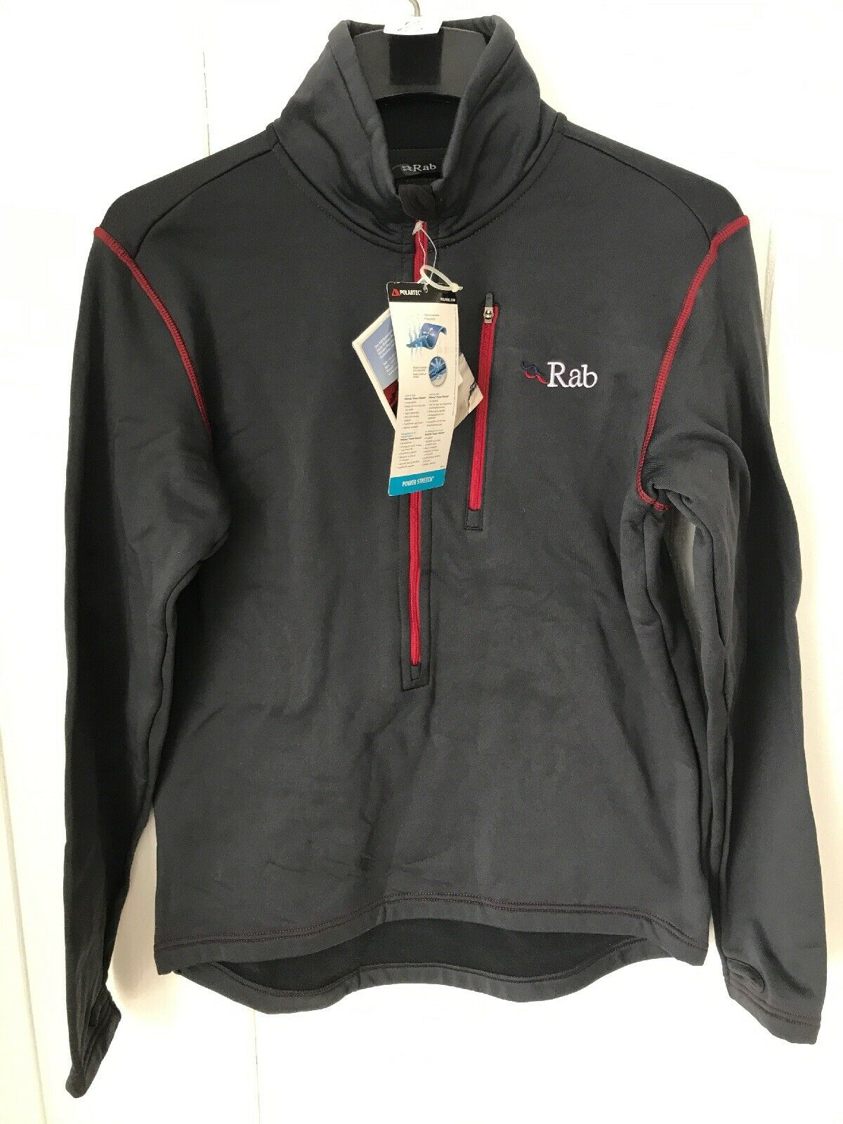 Rab Power Stretch Zip Top   high-quality merchandise and convenient, honest service