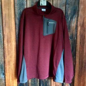 Columbia Sportswear Men/'s Jackson Creek 1//2 Zip Top