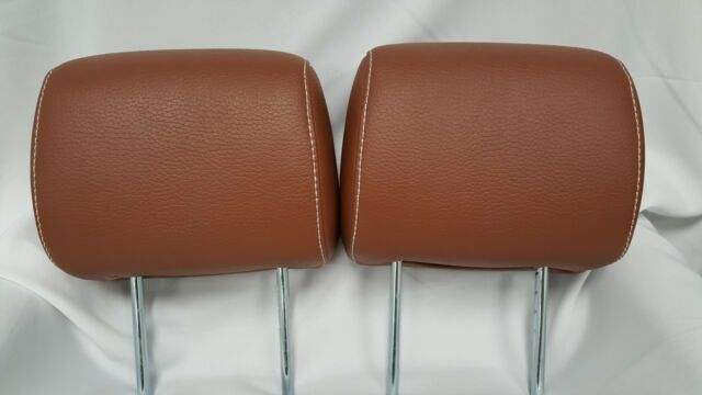 2010 - 2014 Mustang GT Camel Color Leather Head Rests