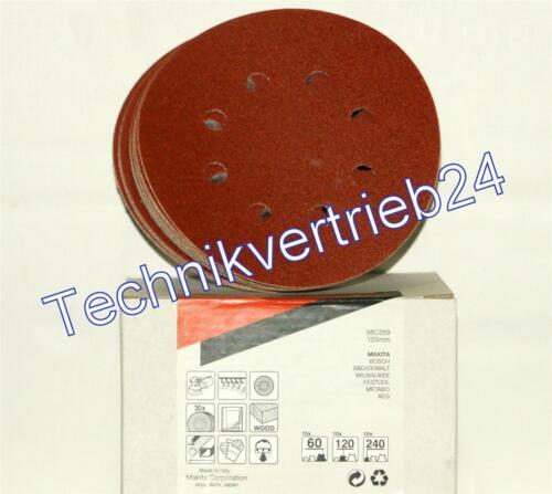 Exzenterschleifer DBO180 Makita Schleifscheiben-Set für z.B Festool AEG Bosch