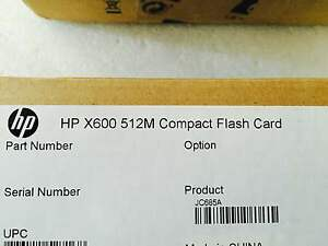 NEW-HP-X600-512M-Compact-Flash-Card-PN-JC685A-Real-time-listing