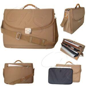 DERMATA Laptoptasche 3432NY Aktentasche Business Dokumenten Reise Koffer Tasche