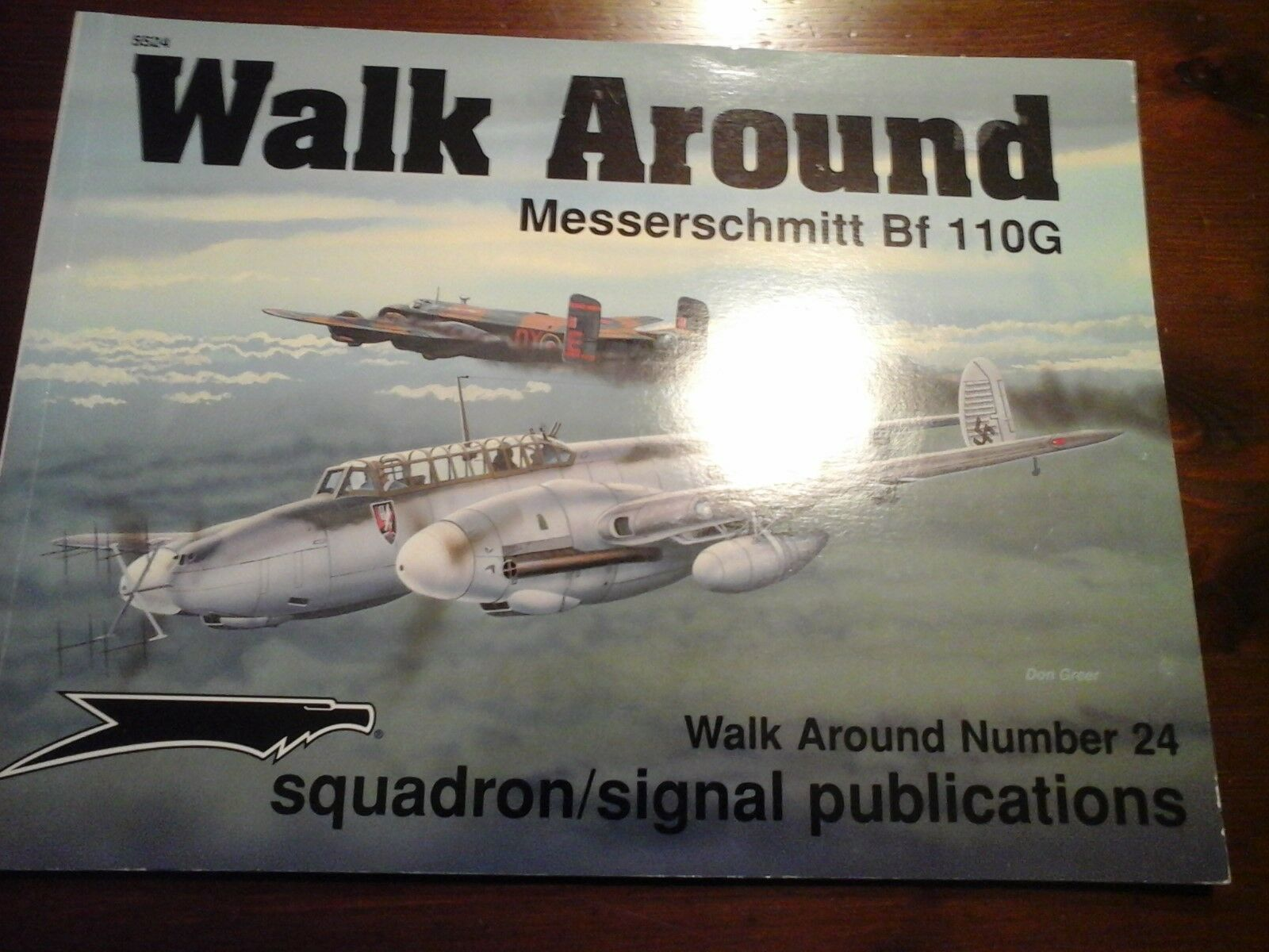 SQUADRON SIGNAL WALK AROUND N.24-MESSERSCHMITT BF110G-BY RON MACKAY-