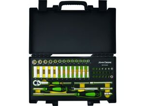 Genuine-John-Deere-54-Piece-1-4-034-6-Point-Socket-Set-MCKTQ250208-Garage-Tools