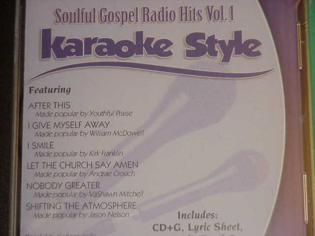 Soulful Worship Volume 1 Christian Karaoke Style New Cd+g Daywind 6 Songs Karaoke Cdgs, Dvds & Media Musical Instruments & Gear